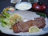 網焼ステーキ定食