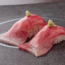 A4和牛サーロインの炙り寿司