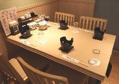 4名様テーブル個室 禁煙 ビル喫煙場ございます 個室最大20名様