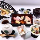天ぷら・にぎり御膳