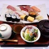 ゆり寿司セット