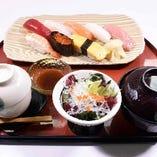 りんどう寿司セット