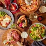 飲み放題付♪ドイツ料理のスペシャルコース