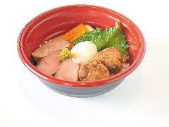 (3)合鴨ロース丼