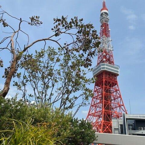 東京タワーのふもとでおしゃれ女子会