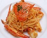 渡り蟹のトマトソーススパゲティ