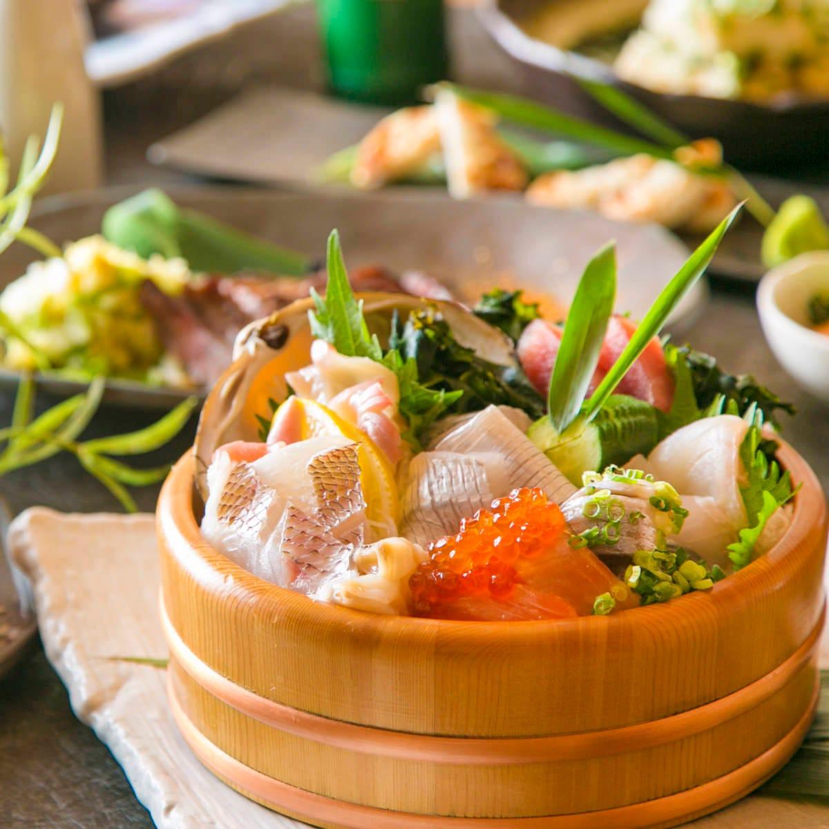 横浜エリア新鮮No,1★宣言!羽田市場の新鮮な魚介を心をこめて♪