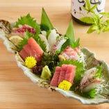 【見極め調理】とろける熟成魚の食べ比べ