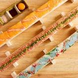 【新登場】新鮮な魚介取り扱いならではの海鮮ユッケ寿司を3種類ご用意!『ネギトロ』『鯛』『サーモン』