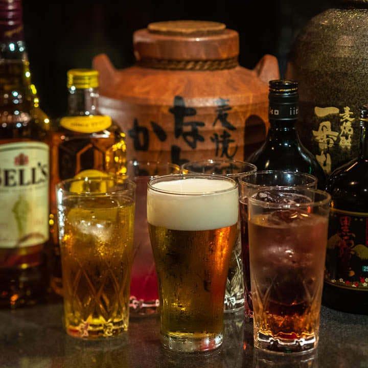 生ビールなど定番から特別な一杯まで