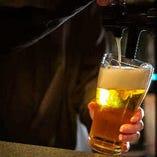 生ビールはアサヒスーパードライをご用意★