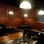最大40名様迄入れる宴会スペース。25名様以上で貸切応相談。