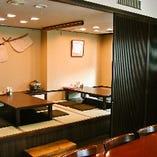 ◆掘りごたつ個室◆ <限定一部屋>2名~6名様までご利用可能です。