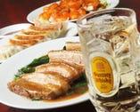 お得な中華食べ飲み放題! 平日2,980円、祝・土2,680円