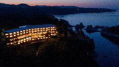 浄土ヶ浜パークホテル ダイニングレストラン 最東端