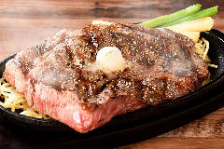 旨味たっぷりのステーキ