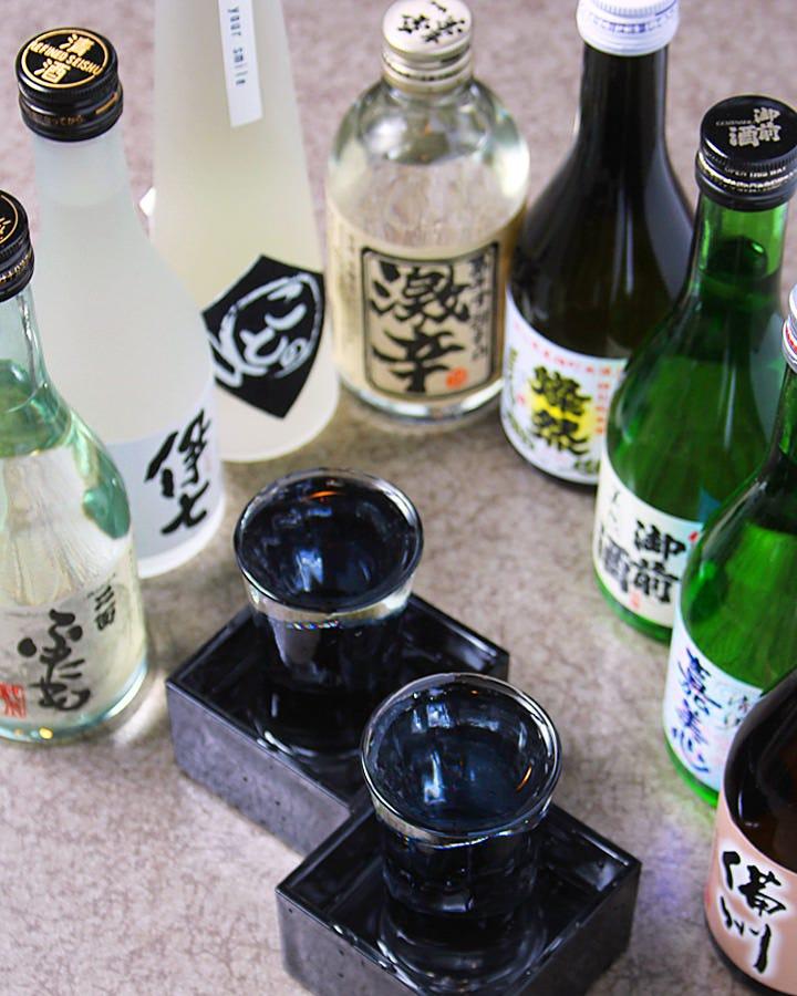 岡山・倉敷の地酒を集めました