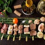 厳選した新鮮な食材をこだわりの調理法でご提供いたします!