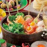 チーズチゲ串鍋