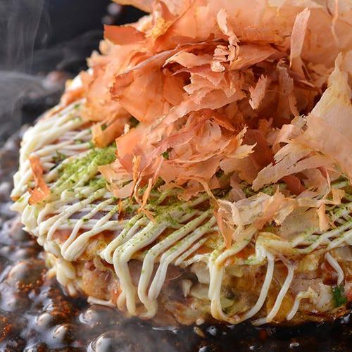 Okonomiyakiteppanyakitabehodai Harajukusakuratei