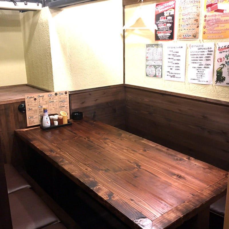 4名~6名様・完全個室テーブル席
