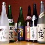 日本の酒処の日本酒豊富にご用意しています(画像はイメージです)