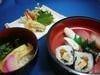 天ぷらにゅうめんすしセット