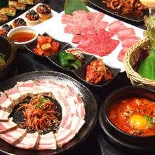 【まる得コース】チュックミ・サムギョプサル/サムギョプサル/チーズ・ダッカルビから選べるメイン♪