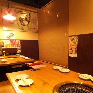 焼肉家族 市川店 店内の画像