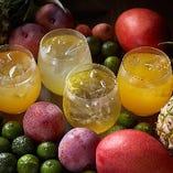 [ドリンク多数!] 南国フルーツ&米麹で作った酵素ドリンクも人気