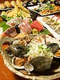 宴会コースは飲み放題付き4000円からご用意致しております。