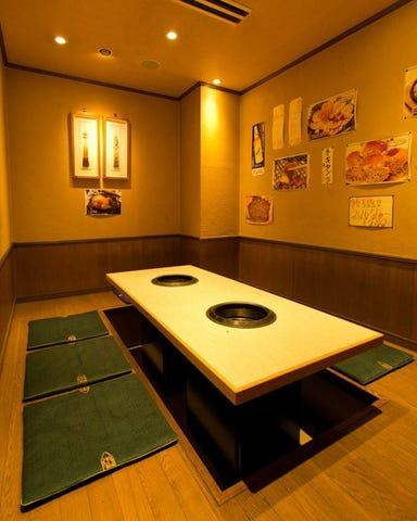 炭火焼肉 コリヤンテーブル 大門・浜松町店 店内の画像