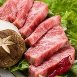 品質に徹底的にこだわった国産和牛を炭火焼でご堪能下さい。