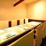 2~11名様までご利用できる、プライベート感あふれる完全個室