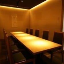 【宴会に】落ち着いた雰囲気の個室