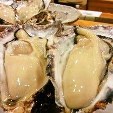 【牡蠣】肥後勝の海の幸をご賞味下さい。