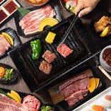 お肉の素材と鮮度に自信あり!美味しい焼肉は食べ放題で満喫★