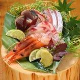 鮮魚の造り盛り