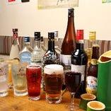 ヱビス生、ワインなど幅広いラインナップ!90分『スタンダード飲み放題』
