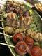 備長炭で焼き上げる串焼きは絶品です。