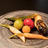季節のお野菜はキムチにしても合うんです!