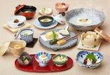 梅の花膳 湯豆腐