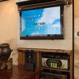 カラオケやテレビなど設備も充実