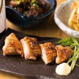 奥三河鶏のあぶり焼き