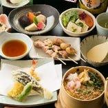 【飛沫感染対策】コース、単品料理に関しましては銘々皿でのご提供も可能です