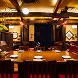 【中央】テーブル席(~10名様)