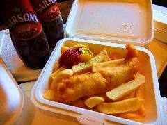 フィッシュ&チップス  Fish and Chips