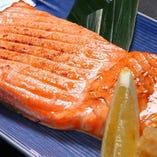 銀鮭焼ハラス炭焼き