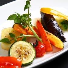 彩り豊かで栄養満点の野菜