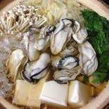 牡蠣鍋(味噌・醤油)(広島産 牡蠣)